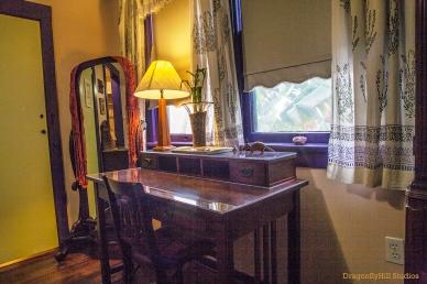 Lavender Room desk