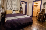 Lavender Room with ample space for wheelchair access