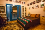Frida Room with door leading to outside