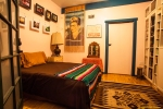 Frida Room with door leading to the Phoenix Room