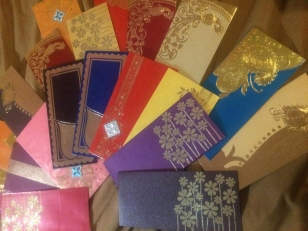 Beautiful gift certificate envelopes for your special gift