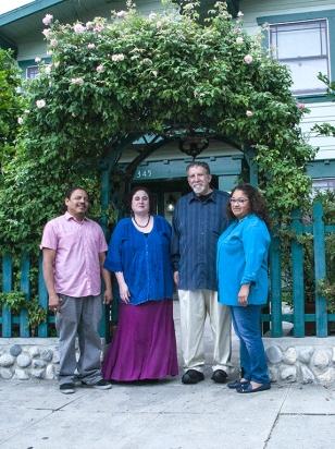 DragonflyHill Team: Carlos, Emma, Andy, Glenda (Xeres, not shown)