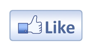 "Facebook ""like"" icon with text: like"