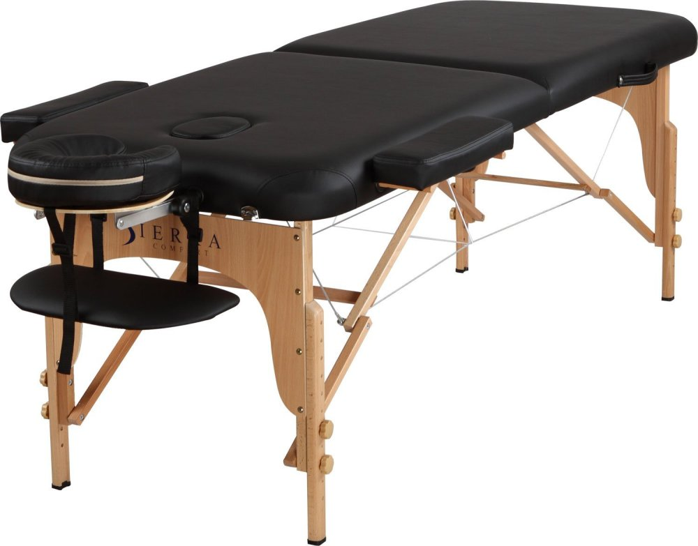 Reiki/massage table, with head rest, arm rest, extra wide.