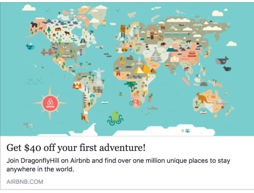 Get $40 off your first adventure! Join DragonflyHill on Airbnb and find over one million unique places to stay anywhere in the world. Airbnb.com