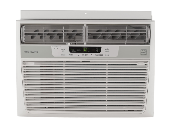 Frigidaire 12,000 BTU 115V Window-Mounted Compact Air Conditioner with Temperature Sensing Remote Control. Model number FFRE1233S1